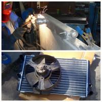 Ремонт радиатора охлаждения