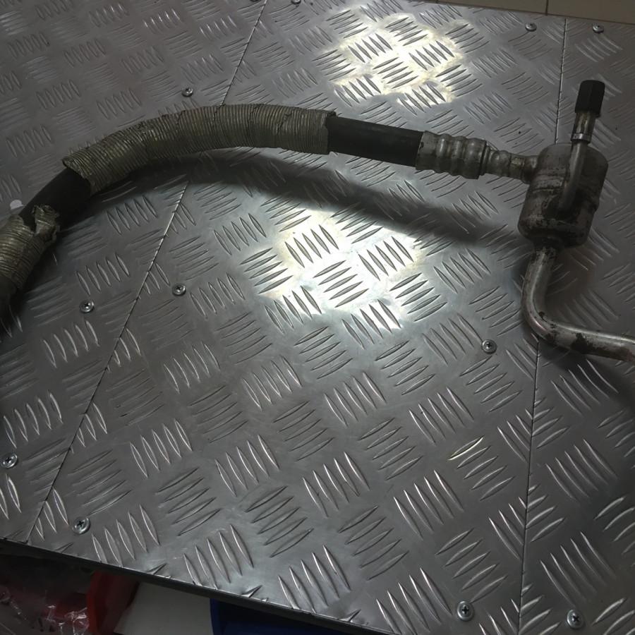 Замена трубки кондиционера